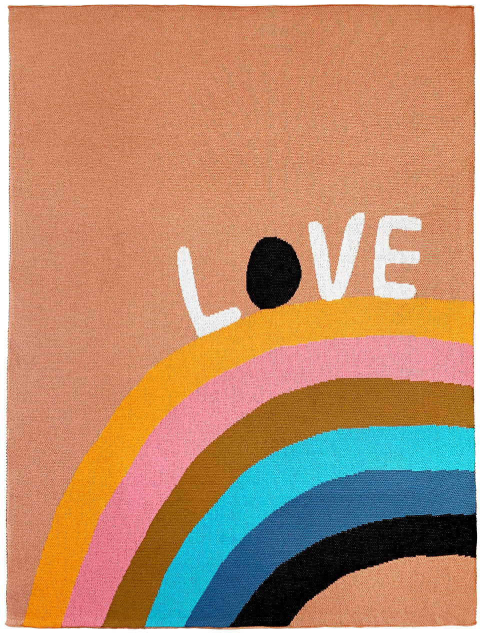 Love rainbow blanket by castle