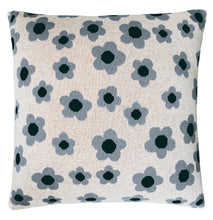 Daisy Chain Knit Cushion Cover by Castle. Back design