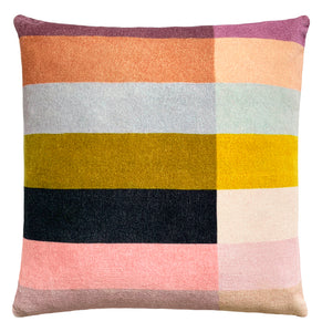 PRE ORDER COLOUR BLOCK CUSHION COVER