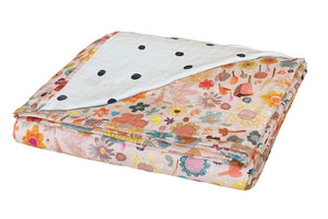 Little Garden Cot Bedspread by Castle