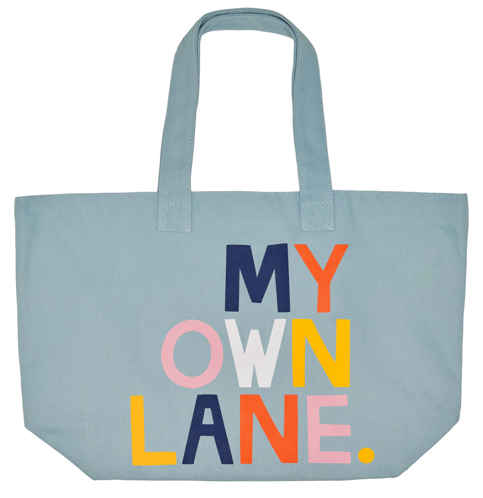 MY OWN LANE TOTE BAG