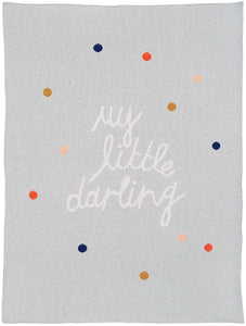Small Darling Baby Throw by Castle