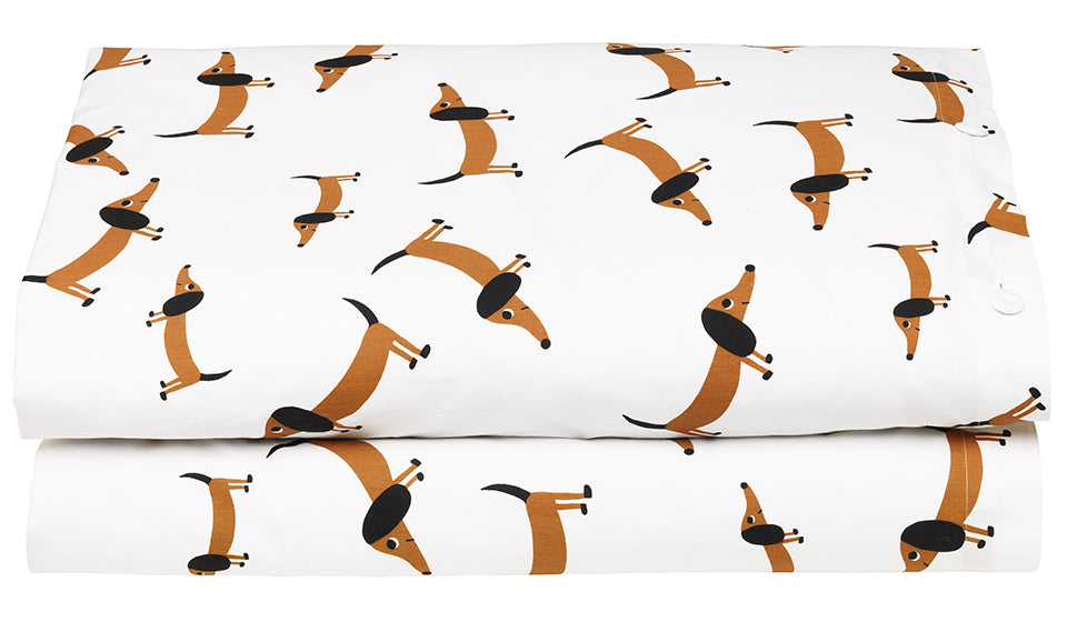Sausage Dog Quilt Cover by Castle