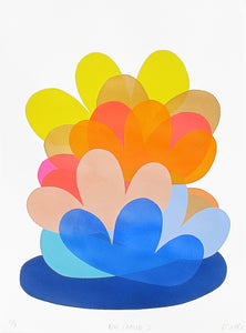 Big Cloud Print by Rachel Castle. 550mm w x 750mm h