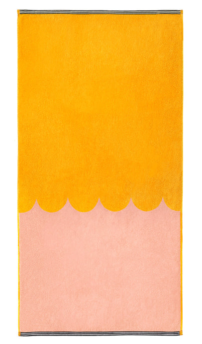 PEACH BATH TOWEL