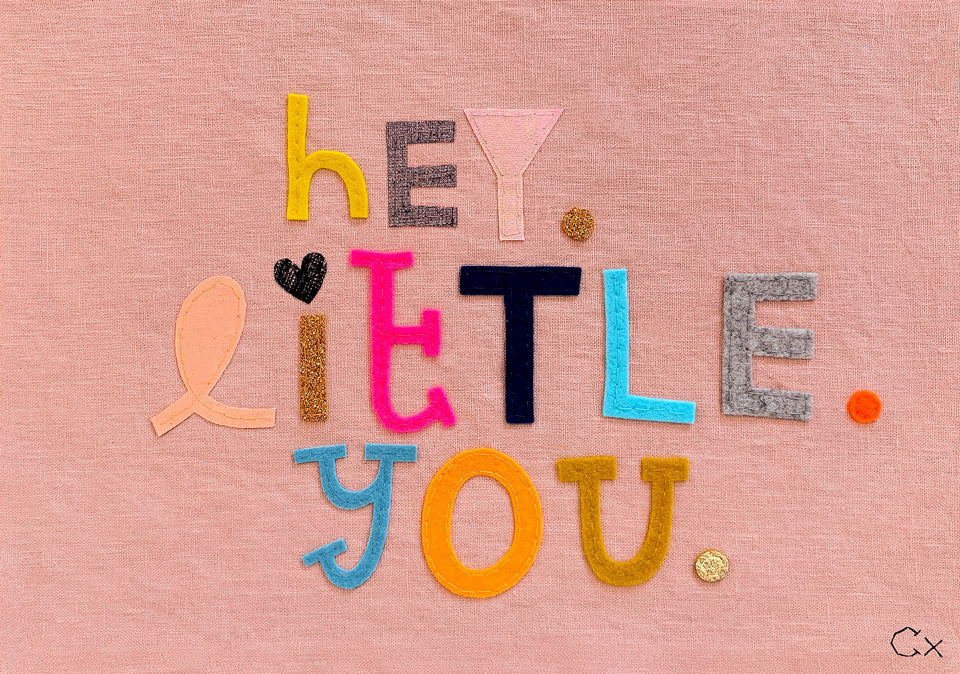 HEY LITTLE YOU