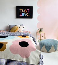 PRE ORDER LARGE PANSY THROW