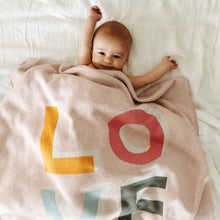 LOVE BABY THROW