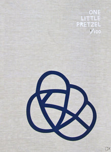 ONE LITTLE PRETZEL ART TEATOWEL