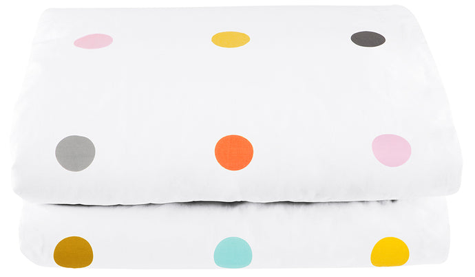 Multi Spot Quilt Cover by Castle