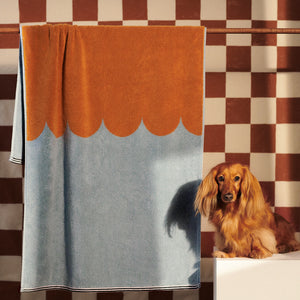 TOFFEE BATH TOWEL