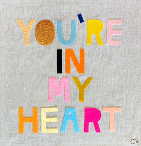 YOU'RE IN MY HEART
