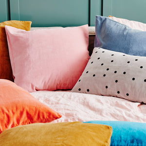 Velvet European Pillowcases by Castle