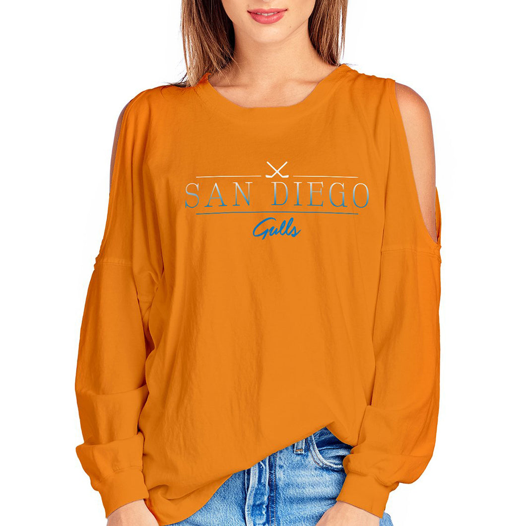 Cold Shoulder Crew Neck