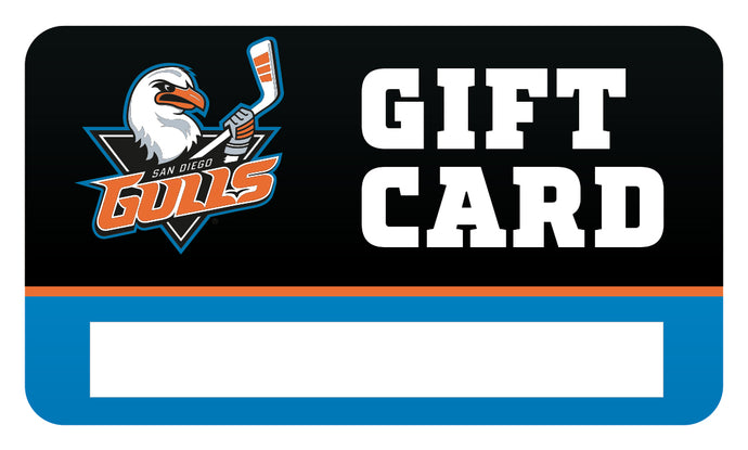 Gulls Shop eGift Card