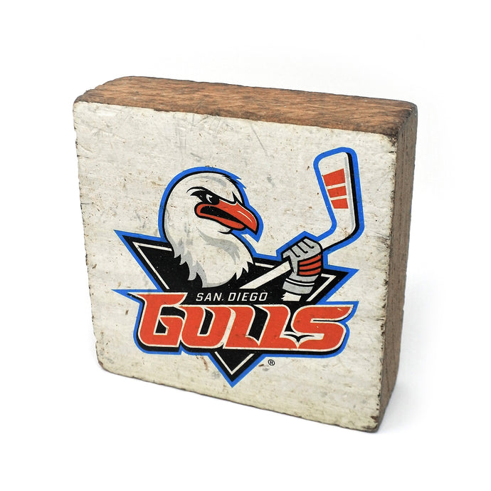Gulls Wood Block