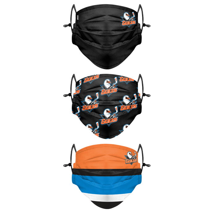 San Diego Gulls 3 Pack Face Cover