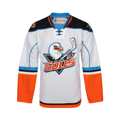 Men's White Replica Jersey