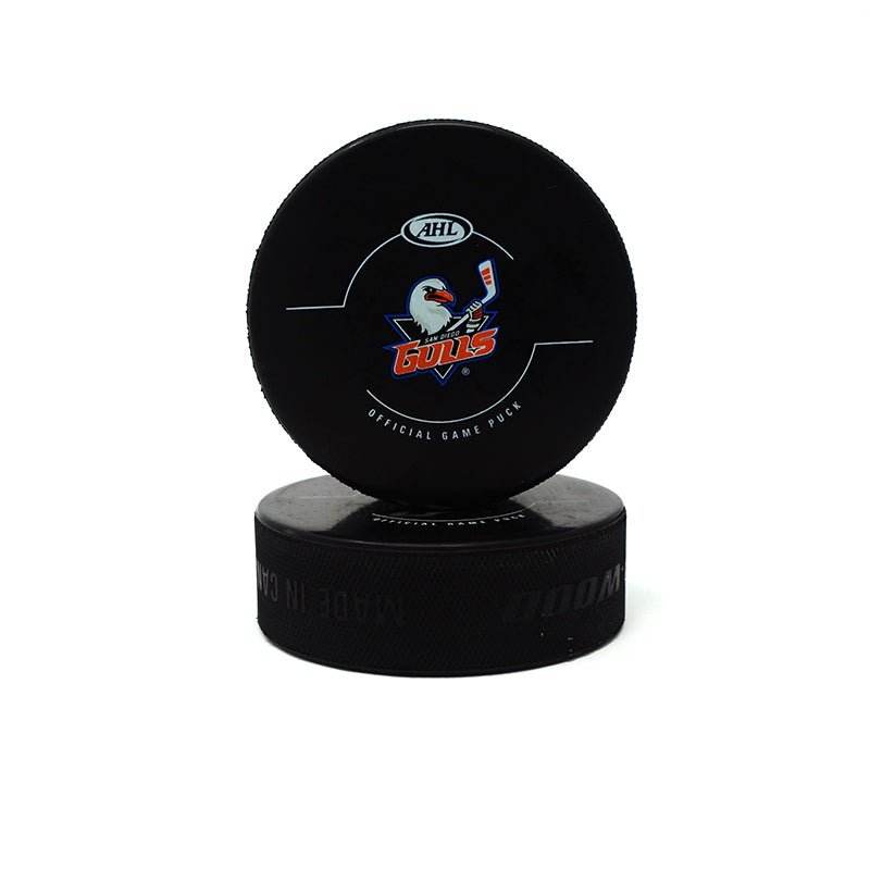 Gulls Official Game Puck