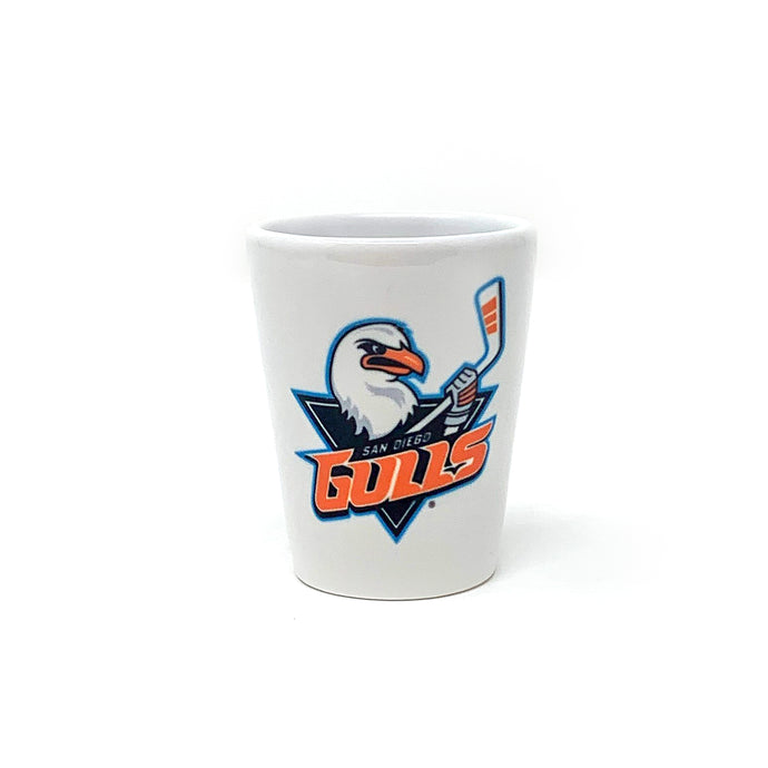 Gulls Ceramic Shot Glass