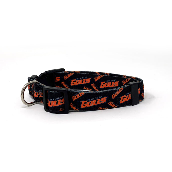 San Diego Gulls Dog Collar