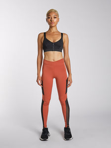Mesh Side Panel Legging