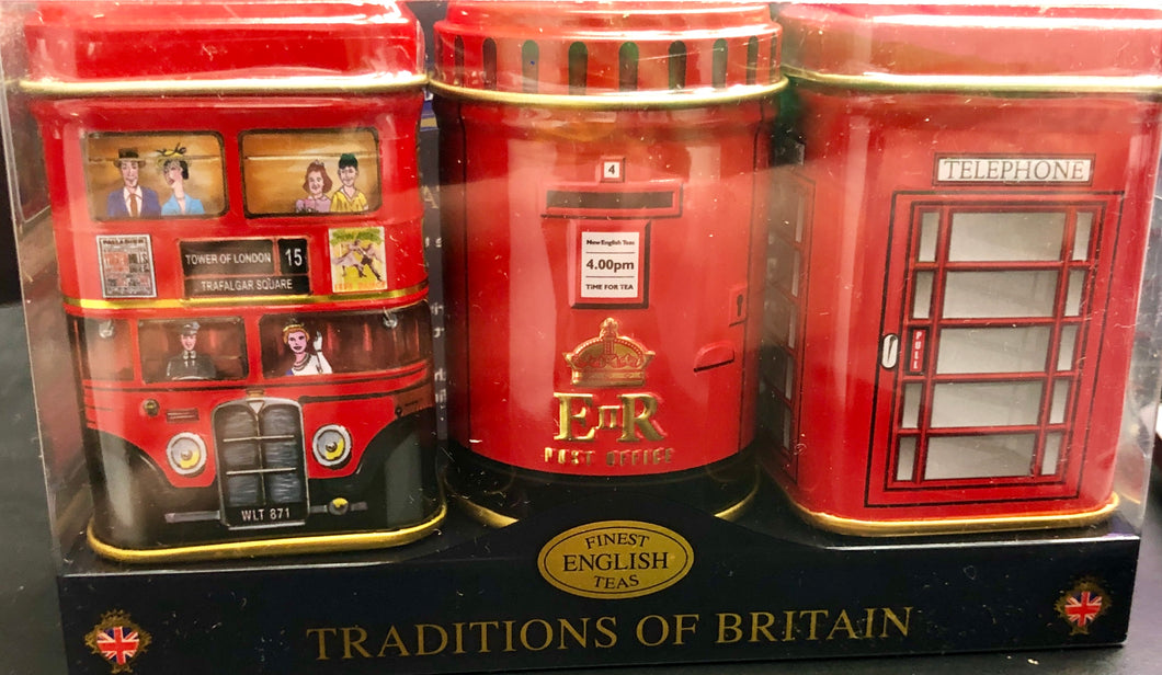 Traditions of Britain Tea Tin Collection