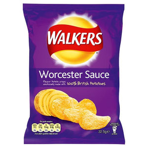 Walkers Worcestershire Sauce Crisps