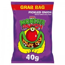 Mega Monster Munch Pickled Onion 40g