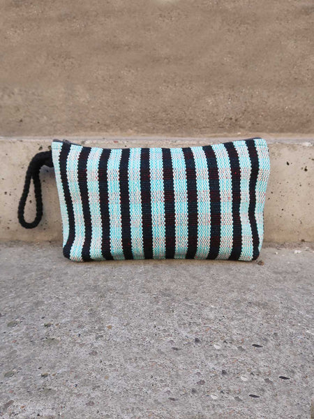 Clutch Nepal Black Stripe
