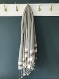 Hamam Towel Dark Grey