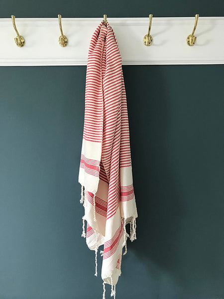 Hamam Towel Red