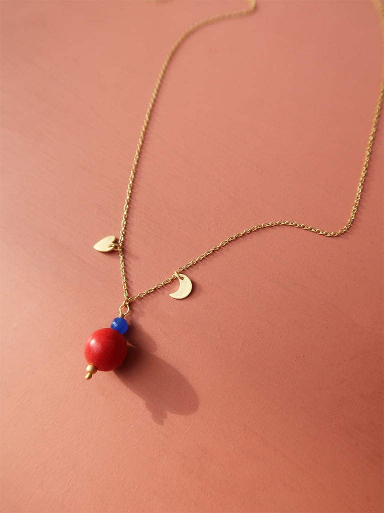 Red Ball Necklace