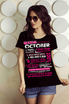 10 REASONS QUEENS ARE BORN IN OCTOBER, GET BIRTHDAY BASH 50% OFF PLUS (FLAT SHIPPING) - LA Shirt Company