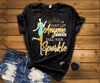 """ DONT LET ANYONE EVER DULL YOUR SPARKLE"",( SHIRT 50% OFF ) FOR WOMAN'S FLAT SHIPPING. - LA Shirt Company"