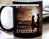 """My Husband Is One Of My Greatest Blessings "" MUG (50% OFF). Flat Shipping. - LA Shirt Company"