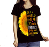 "2 Combo (Sunflower And Walk Away)""(Flat Shipping) For Girls - LA Shirt Company"