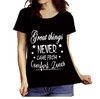 """ Great things never came from comfort zones "", 50% Off Flat Shipping. - LA Shirt Company"