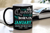 """This Queen Was Born In JANUARY""... ( Birthday Special Mugs 50% off today) - LA Shirt Company"