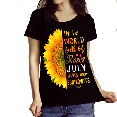 """July  Combo (Sunflower And 3 Sides)"" 2 Combo Pack(Flat Shipping) - LA Shirt Company"