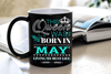 """This Queen Was Born In MAY""... ( Birthday Special Mugs 50% off today) - LA Shirt Company"