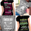 """Get Exclusive Discount On October Combo Pack Of 4 Shirts(Flat Shipping) For B'day Girls. - LA Shirt Company"