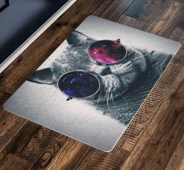 Sassy Cat, Pets Special Doormat For homes Exclusive ( Best price Deal) - LA Shirt Company