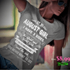 As An August Girl, I Have 3 Sides, GET BIRTHDAY BASH 50% OFF PLUS (FLAT SHIPPING) - LA Shirt Company
