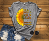 """In A World Full Of Roses August Girls are Sunflowers"" FLAT SHIPPING (Special Discount) - LA Shirt Company"