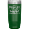 """December Girls 3 sides""Tumbler.Buy For Family & Friends. Save Shipping. - LA Shirt Company"