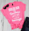 DECEMBER GIRLS ARE SUNSHINE MIXED WITH LITTLE HURRICANE, BIRTHDAY BASH 50% OFF PLUS (FLAT SHIPPING) - LA Shirt Company