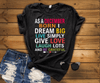 "As A December Born I Dream Big Live Simply & Be Grateful "" 50% Off Flat Shipping. - LA Shirt Company"