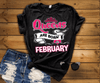 QUEENS ARE BORN IN FEBRUARY, GET BIRTHDAY BASH 50% OFF PLUS (FLAT SHIPPING) - LA Shirt Company