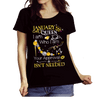 "January Queen I Am Who I Am Your Approval Isn't Needed""50% Off for B'day Girls. Flat Shipping. - LA Shirt Company"